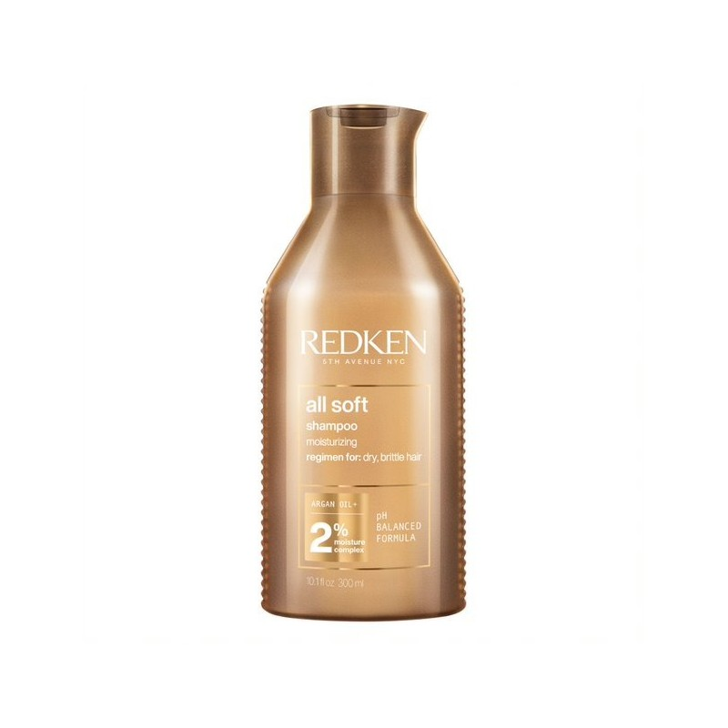 Shampoo All Soft   Suavidad e Hidratación