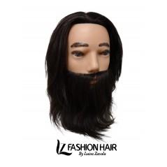 Cabeza Técnica Hombre con Barba.